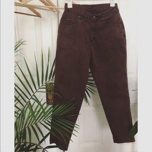 Lee Brown Girlfriend Cut Jeans